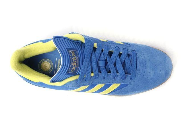 Adidas Busenitz Blue Yellow Aerial 1