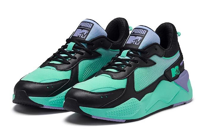 Puma Mtv Rs X Tracks Green Pair