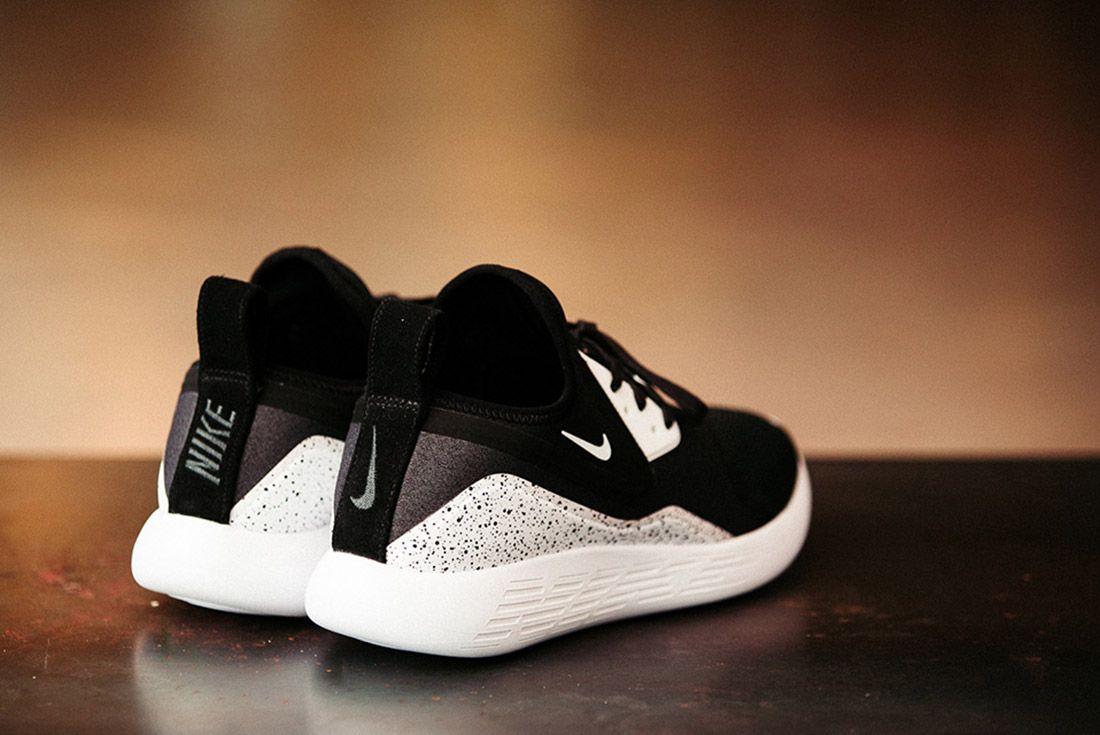 Nike Lunarcharge Black White 4