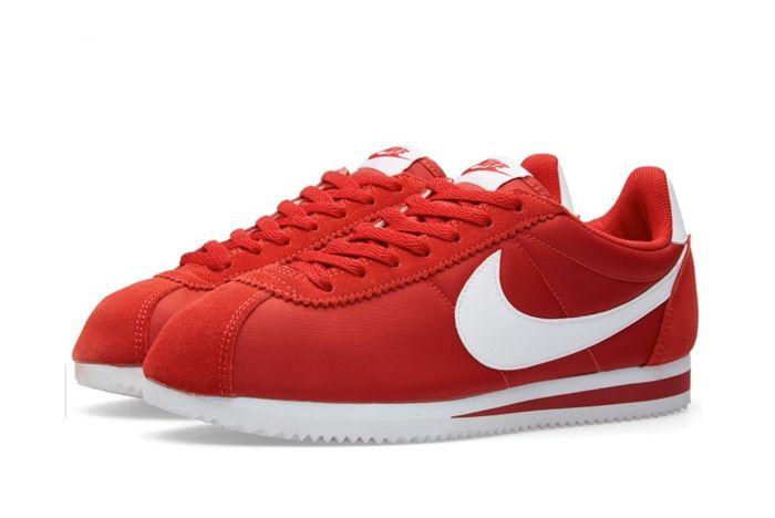 Nike Cortez Nylon (Gym Red) - Sneaker Freaker