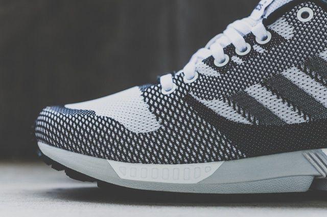 Adidas Zx Flux Weave White Black 6