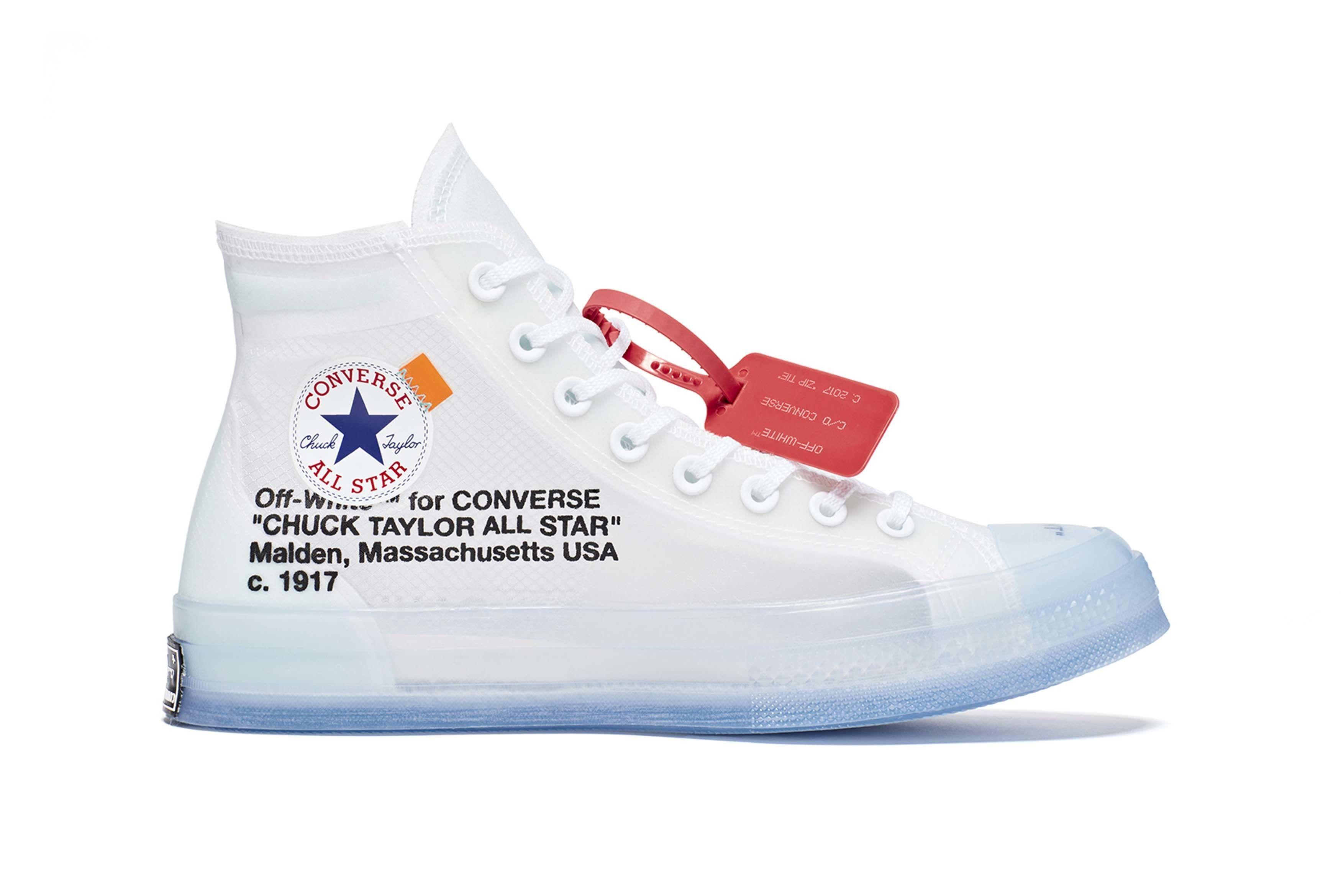 Converse Virgil Abloh Chuck 70 The Ten Release 2 Sneaker Freaker