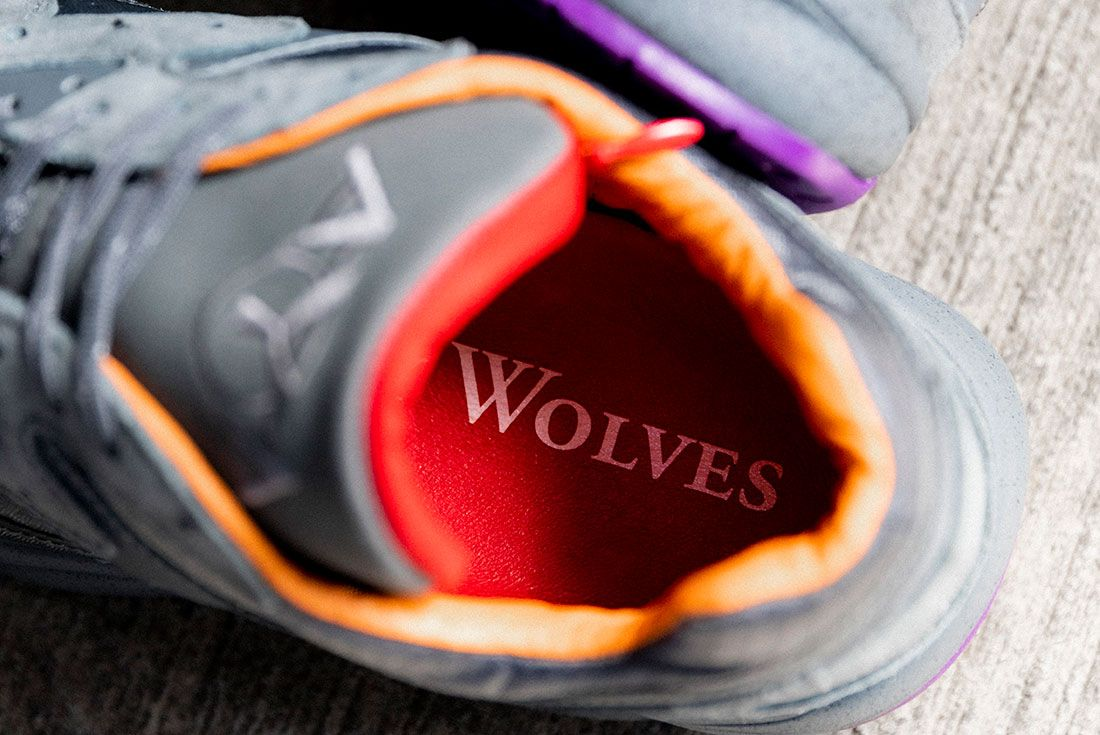Raised By Wolves Saucony Aya Grey Insole
