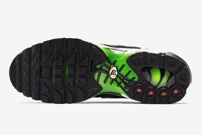 Air Max Plus Volt Green Black 3