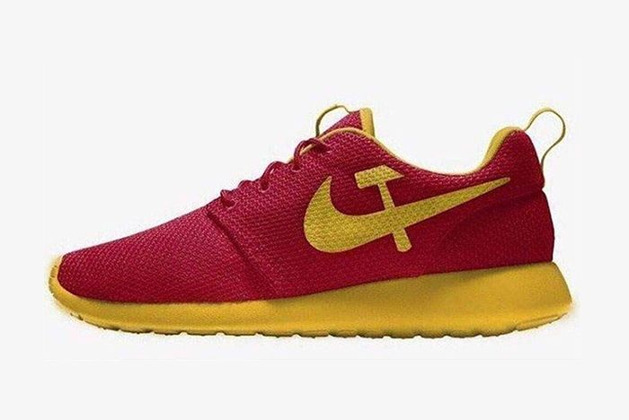 Donald Trump Junior Nike Roshe Run Communist