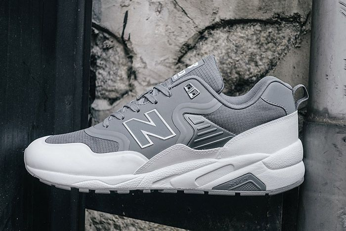New Balance 580 Deconstructed Gunmetal Grey 4