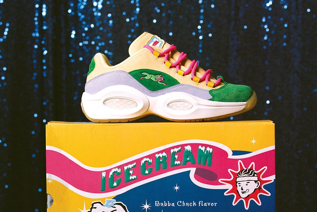 BBC x Reebok Question Low FZ4345