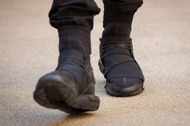 Adidas Y 3 Qasa High All Black 7