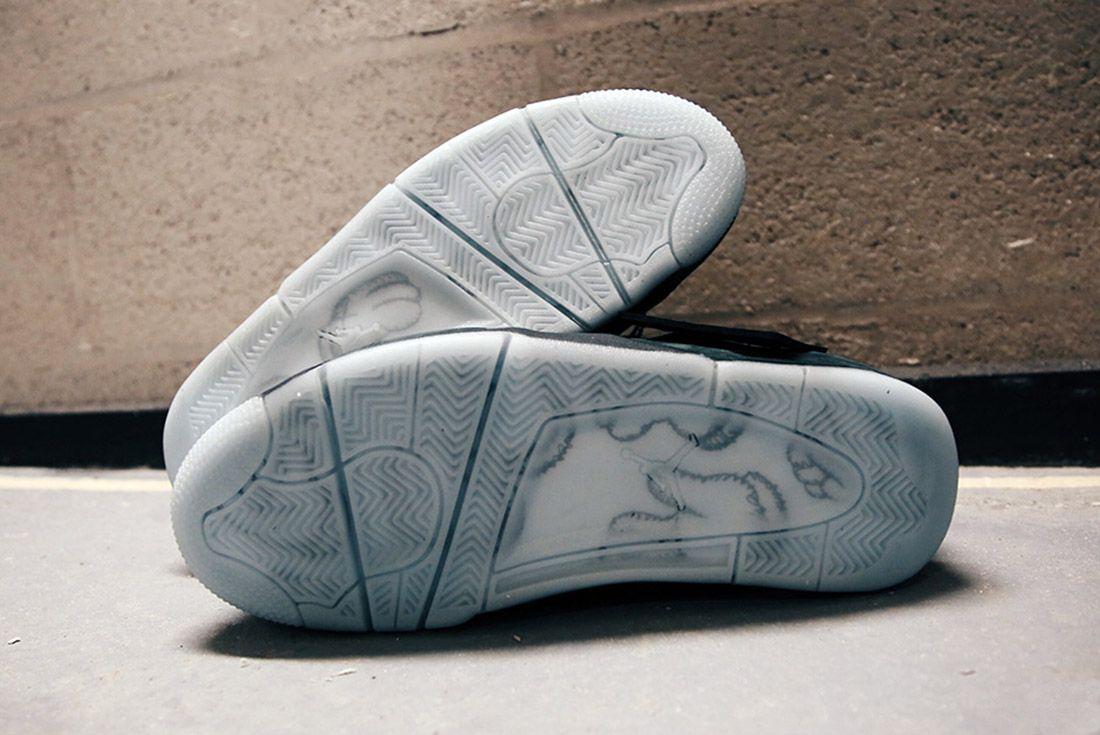 Air Jordan 4 Kaws Black Detail Sneaker Freaker 2