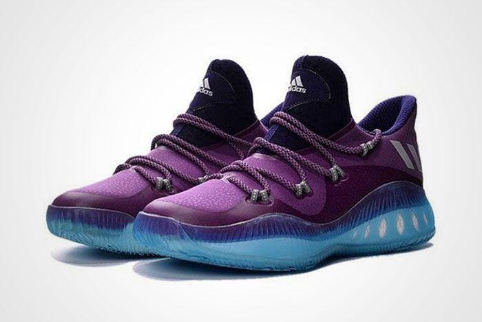 Adidas Crazy Explosive Low Purple Ice Blue Thumb