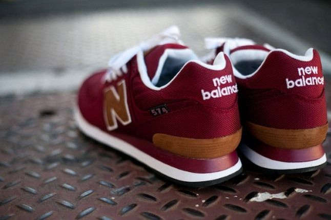 New Balance 574 Backpack Edition Red Heel 1