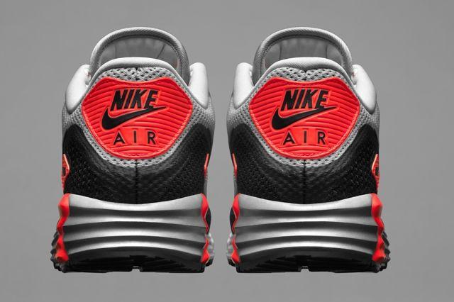 Nike Air Max Lunar90 Mens Heel