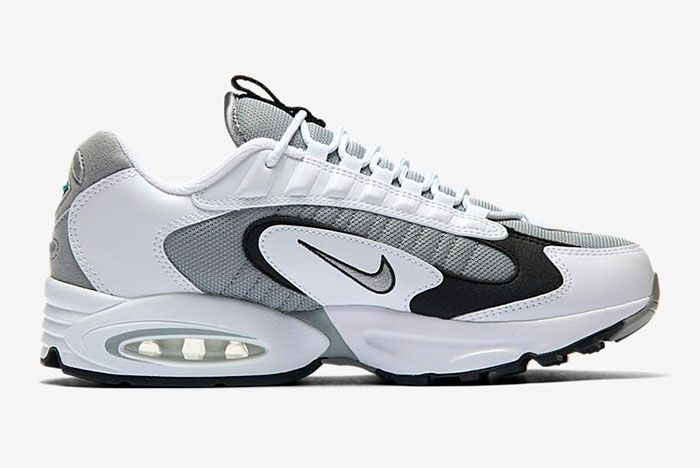 Nike Air Max Triax 96 Silver Right