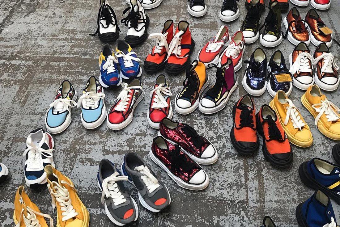 Mihara Yasuhiro Spring Summer 2020 Sneaker Offerings Top Shot