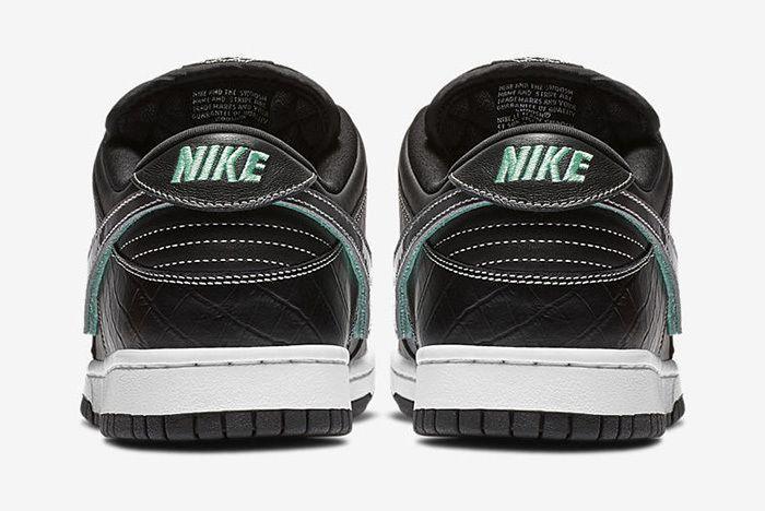 Diamond Supply Co Nike Sb Dunk Low Black Official 4