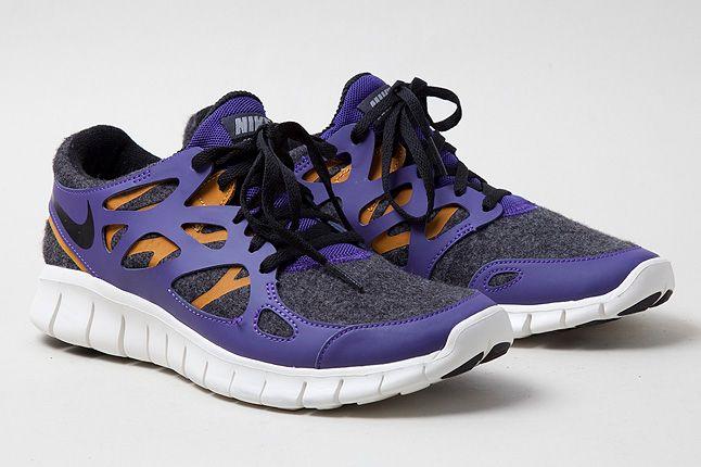 Purple Quarter Nike Free Run2 1