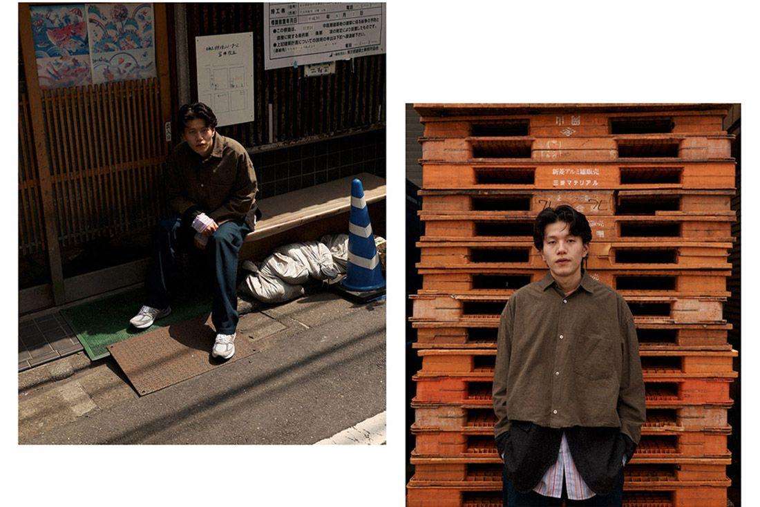 New Balance 990V5 Biancissimo Afew Japan Editorial 8 Cropped Jacket
