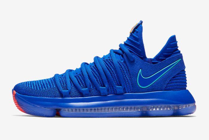 Nike Kd 10 Prosperity Blue 2