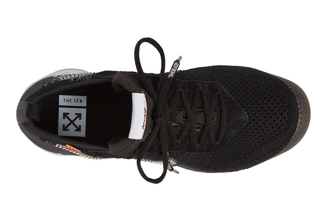 Off White Nike Vapormax Flyknit Black Release Details 2