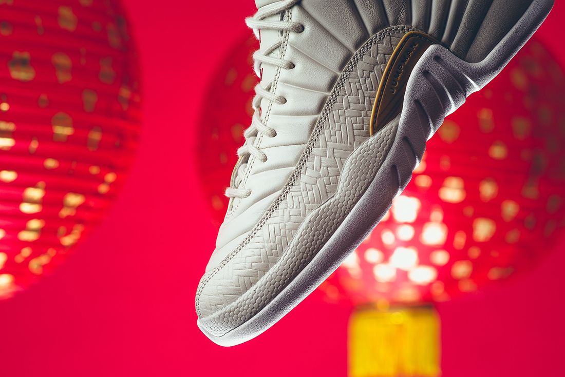 Air Jordan 12 Gs Chinese New Year12