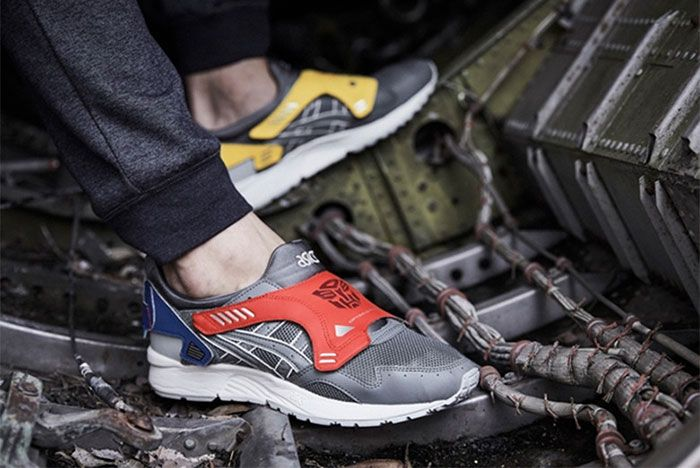 Transformers Asics Gel Lyte 5 On Foot