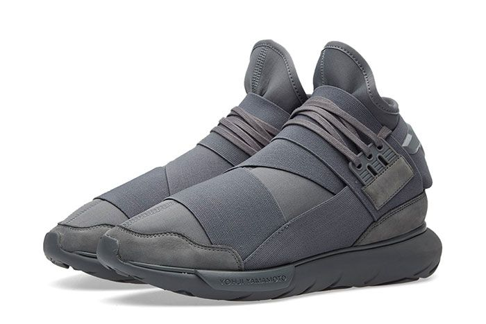 Adidas Y 3 Qasa High Vista Grey 1