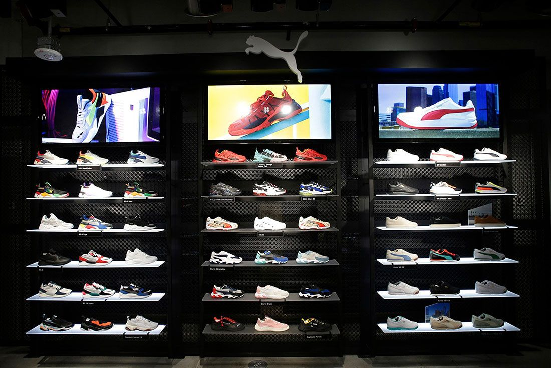 Puma Flagship Fifth Avenue In Store9 Sneakers