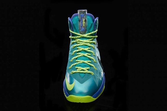 Nike Lebronx Pselite Sprt Turquoise Front Profile 1