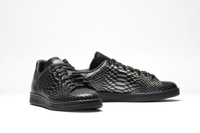 Adidas Originals Stan Smith Black Reptile 3