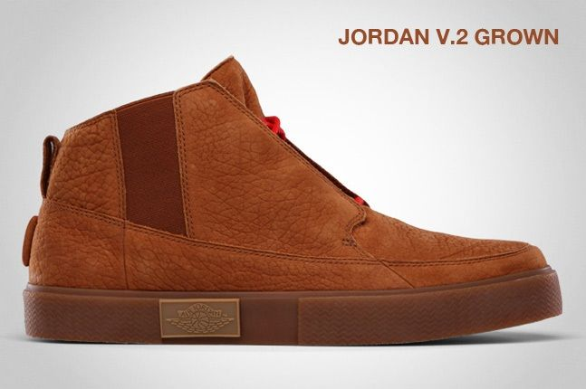 Jordan V 2 Grown Cognac 1
