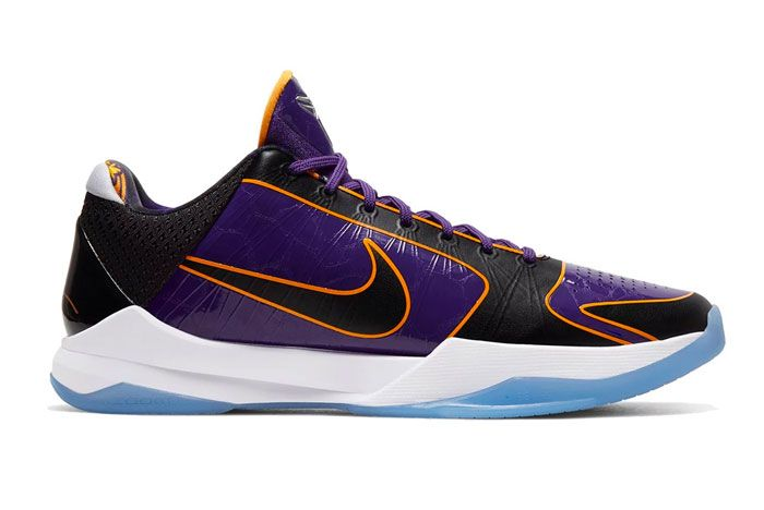Nike Kobe 5 Protro Lakers Right