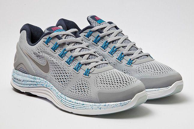 Nike Lunarglide4 Wolf Grey Quarter 1