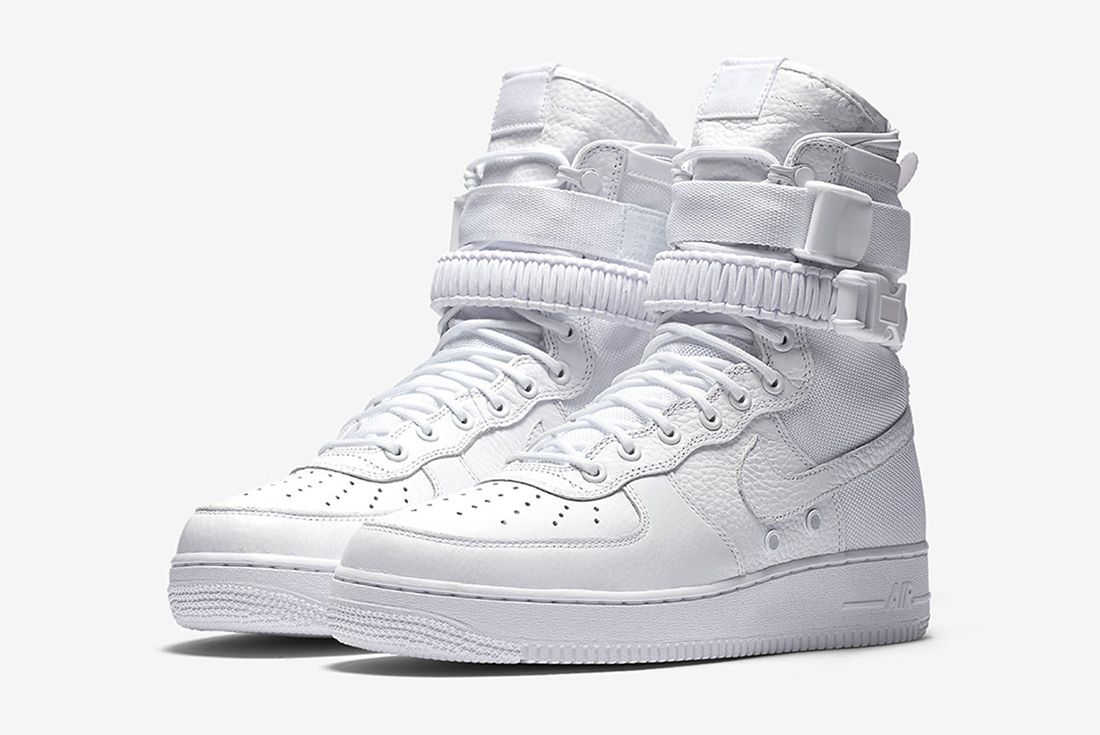 Nike Sf Af1 Triple White1