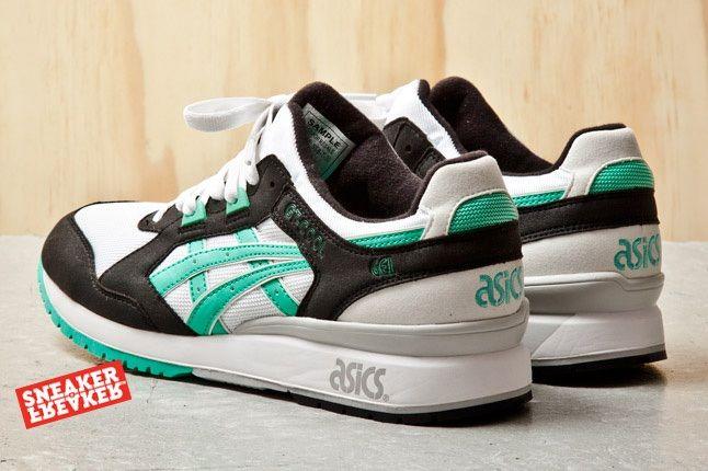 Asics Gt Cool Black Mint 5 Heel Quarter 1