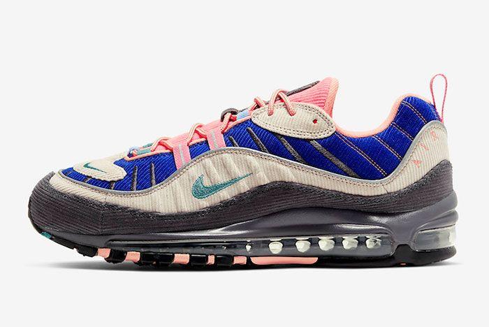 Nike Air Max 98 Corduroy Cq7513 044 Release Dateside