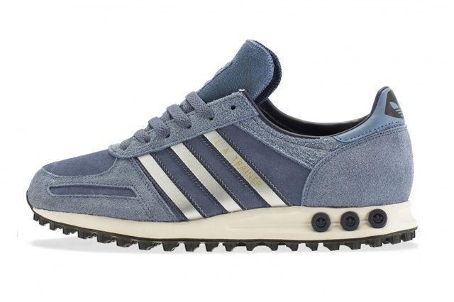 Adidas La Trainer Slate Metallic Silver 4