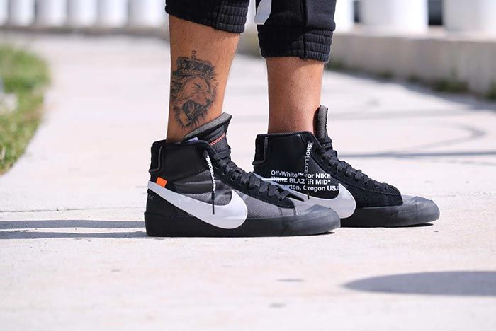 Off White Nike Blazer Halloween Grim Reaper Release