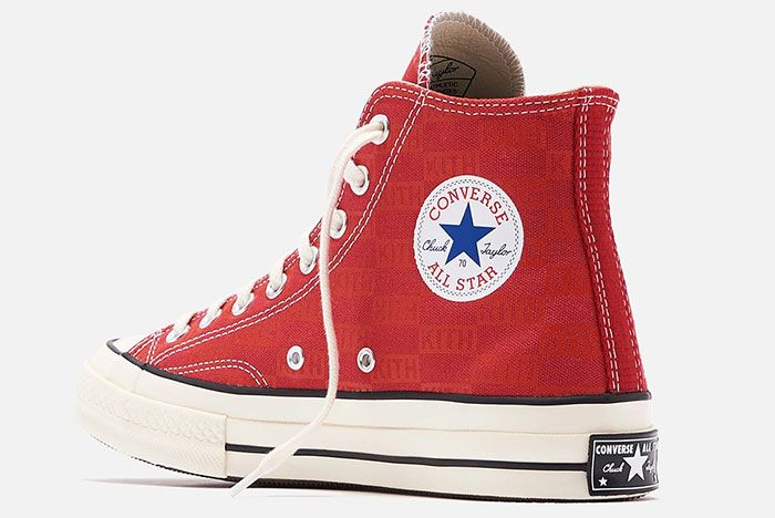 Kith Converse Chuck 70 Red 3 Official