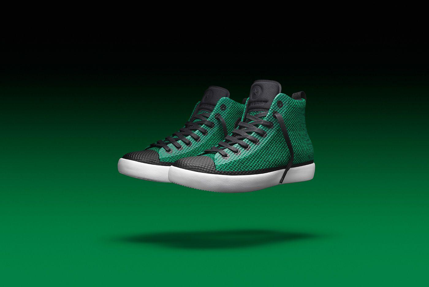 299355 All Star Modern Hi Green 3 4