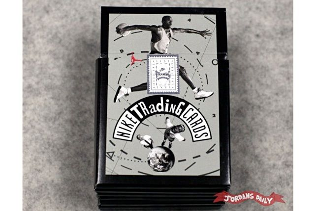 Vintage Nike Mars Blackmon Michael Jordan Trading Cards 1 2