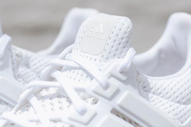 Adidas Ultra Boost White Black Bottom 8