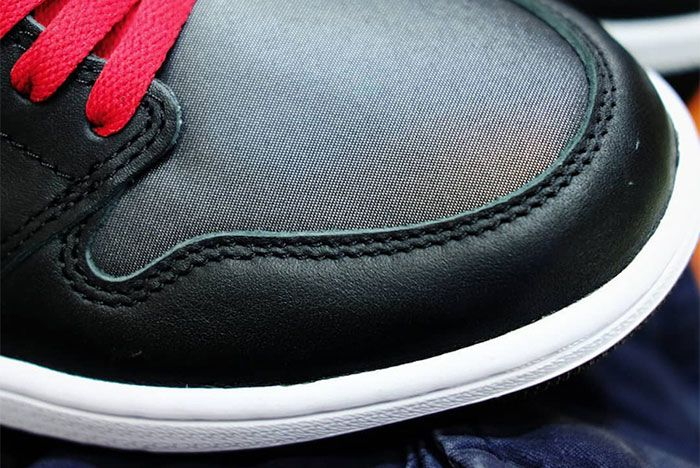 Air Jordan 1 Black Satin Toe