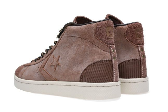Converse First String Pro Leather Mid Zip 2