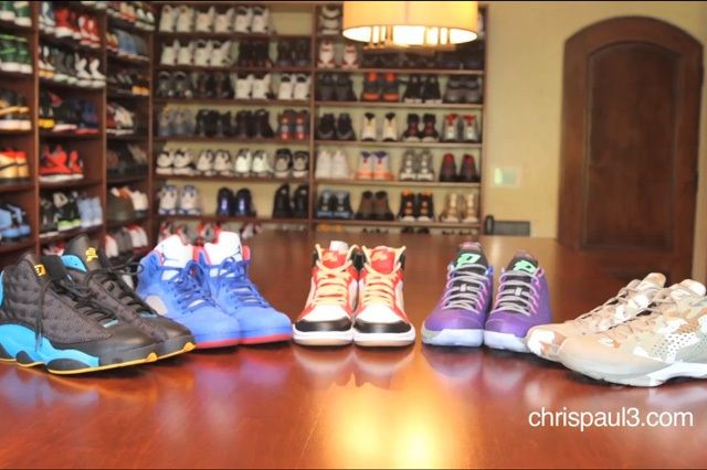 Chris Paul Air Jordan Vault Tour 2