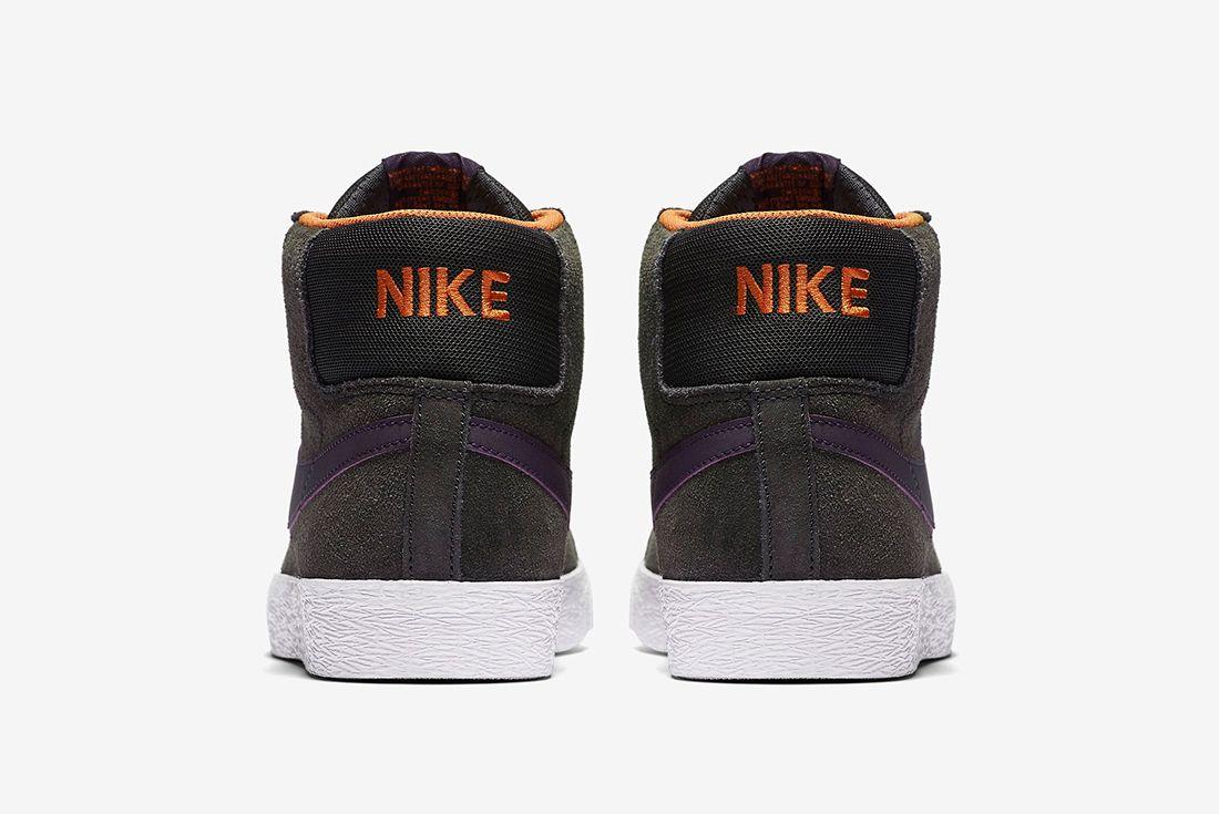 Nike Sb Zoom Blazer Premium Anthracite Purple Dynasty5