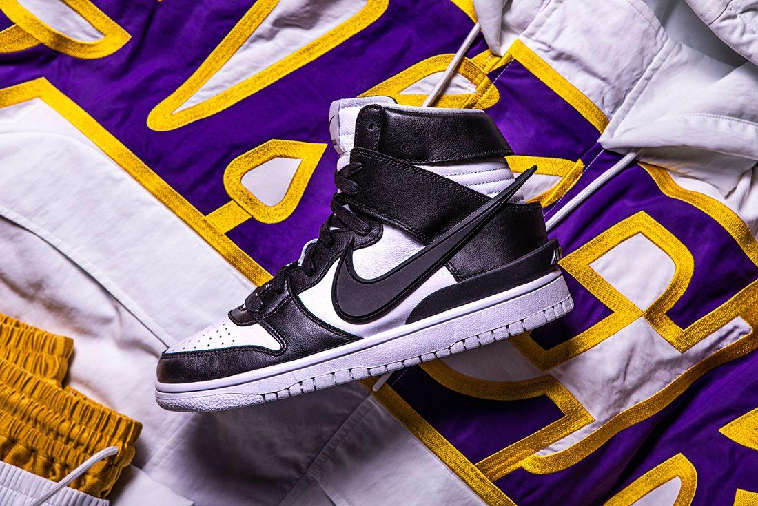 AMBUSH x Nike Dunk High and NBA Collection sneaker freaker shot