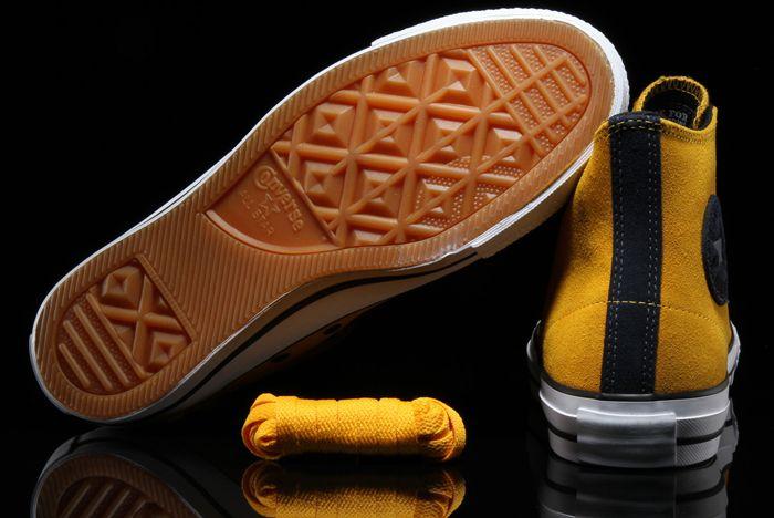 Converse Ctas Pro Suede Hi Mustard3
