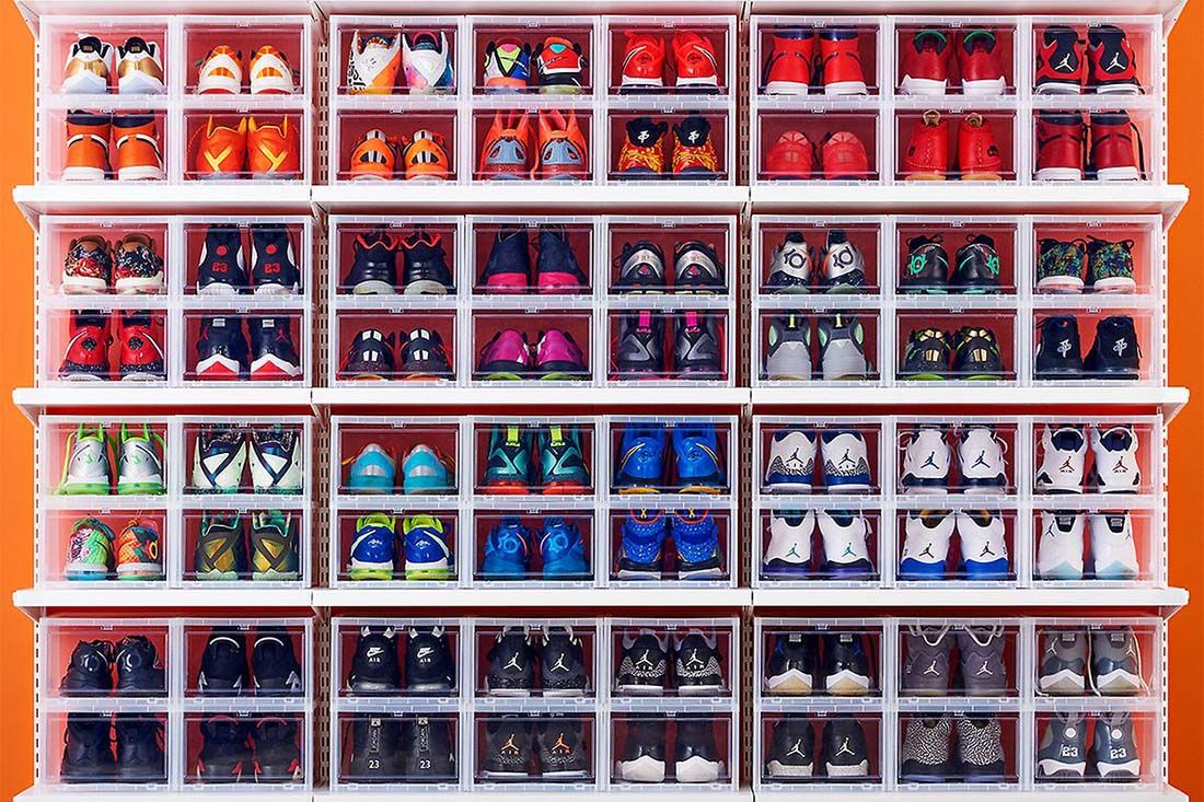 Boxes Sneaker Storage Tips Sneakerhub Feature