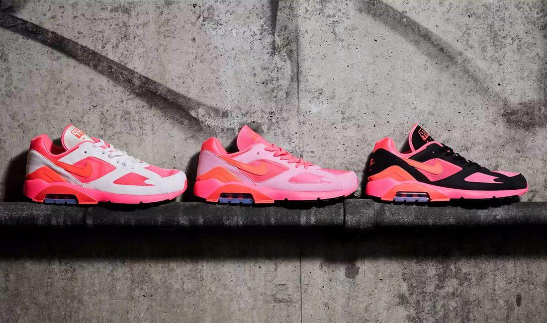 Nike X Comme Des Garç Ons Air Max 180 Sneaker Freaker 2