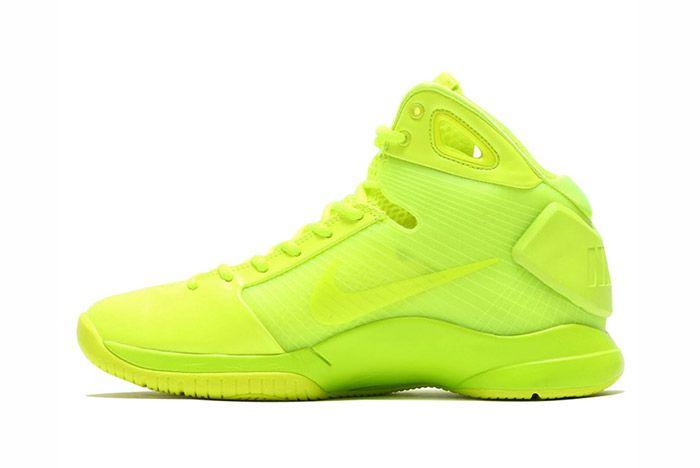Nike Hyperdunk 2008 Retro Neon Pack Volt 4